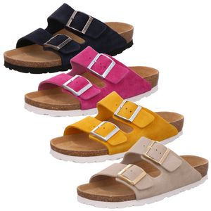 Rohde 5590 Alba Damen Schuhe Pantoletten Clogs Leder, Größe:38 EU, Farbe:Beige