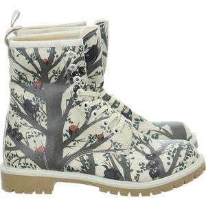 Dogo Stiefel Long Boots Tree's Soul Beige Damen