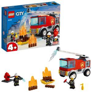 LEGO 60280 City Feuerwehrauto, Feuerwehr Spielzeug mit Feuerwehrmann Minifigur, Geschenkidee für Jungen und Mädchen ab 4 Jahre