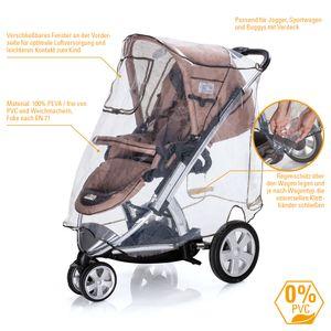 Diago Komfort Universal Regenschutz in XL für Buggys