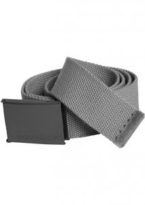 Urban Classics - TB305 Canvas Belt Gürtel One Size Black