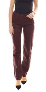 Aniston Cord-Hose modische Damen Business-Hose im Five-Pocket-Style Violett, Größe:40