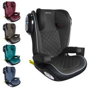 XOMAX A23 Auto Kindersitz mit ISOFIX (Gruppe II, III) 15 - 36 kg, Farbe:grey-black-sls