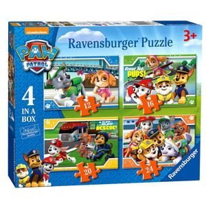 Ravensburger Puzzel Paw Patrol 12+16+20+24 Stukjes.