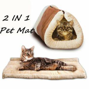 Katzenkissen Katze Cat Kissen Matte für die Fensterbank Flauschig Fenster Bett