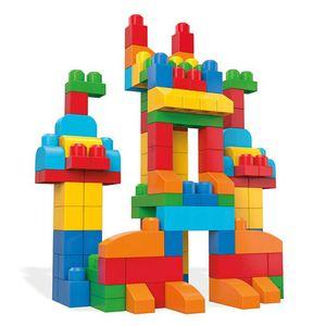 Mega Bloks Bausteinebeutel - Deluxe 150 Teile - Grundfarben
