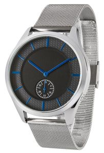 Funk-Armbanduhr, Damen, Datumsanzeige, mit Edelstahlgehäuse + -armband