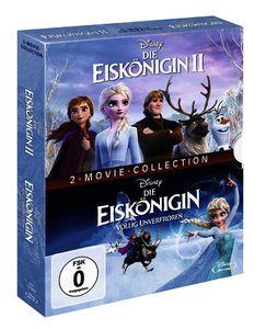 Blu-Ray Die Eiskönigin 1 + 2