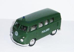 VOLKSWAGEN Bus T1 1963 Polizei VW Modell Modellauto Polizeiauto Spielzeugauto 28 (Polizei)