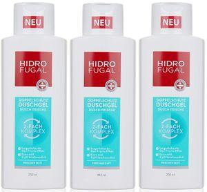 Hidrofugal Doppelschutz Duschgel Dusch Frische 2-Fach-Komplex 250ml - 3er Pack