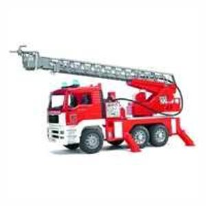 Bruder MAN Fire engine with selwing ladder, 2771