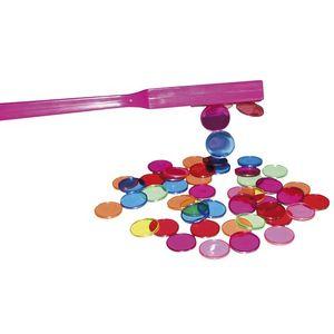 EDUPLAY 120-106 Magnetstab mit Chips (Farbe zufällig, 1 Set)