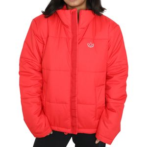 adidas Originals Short Puffer Jacke Damen Rot (GK8556) Größe: 40 (M)