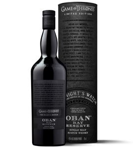 Oban Bay Reserve The Night's Watch Game of Thrones GoT Limited Edition Single Malt Scotch Whisky  | 43 % vol | 0,7 l