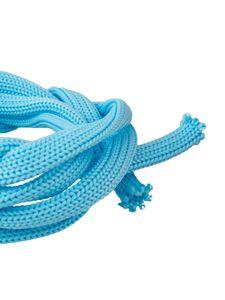 1lfm PSYWORK Schwarzlicht Textil-Schnur Blau, 6mm