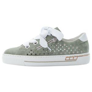 Rieker Damen Halbschuhe Schnürschuhe Sneaker L8845-52, Größe:37 EU, Farbe:Grün