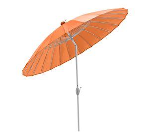 SORARA SHANGHAI Rund Sonnenschirm Parasol | Orange | Ø 260 cm