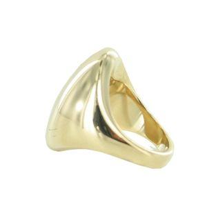 Esprit Damen Ring Edelstahl Gold Prominent ESRG12810B1, Ringgröße:60 (19.1 mm Ø)