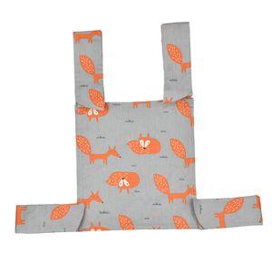 Baby Puppen Tragetasche Tragetuch mit Schultergurt, Kinder Geburtstagsgeschenk Füchse Mehrfarbig Kinderpuppen Träger Rucksack