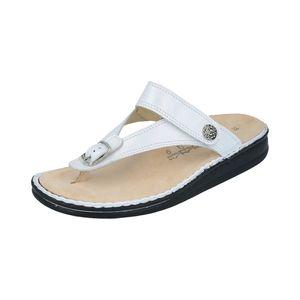 Finn Comfort Damen Sandaletten in Weiß, Größe 40