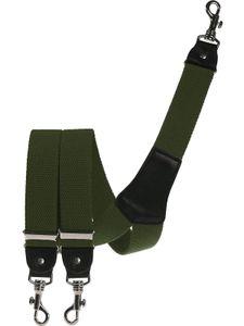 Extra starker Hosenträger mit Karabinerhaken, Größen:120 cm, Farben:oliv