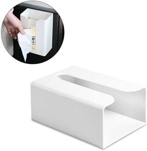 Papierhandtuchspender Wandmontage Kein Bohren Papierhandtuchhalter Spender Bad Toilettenpapier Spender Müllsäcke Spender Home Küche Papier Extraktion Spender