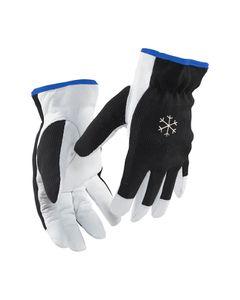 Blakläder Handschuh Handwerk gefüttert 2286 3910 in schwarz/weiß, Größe:11