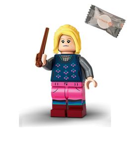 Lego® 71028 Harry Potter™ Minifiguren - Figur 12 Luna Lovegood + 1 stickermarkt24de Gum