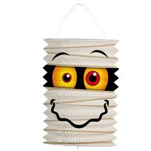 Kinder Laterne Mumie Halloween Zuglaterne