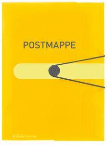 Herlitz Postmappe easy orga to go PP Folie DIN A4 gelb
