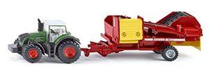 Siku Traktor mit Kartoffelroder Landwirtschaft; 1808