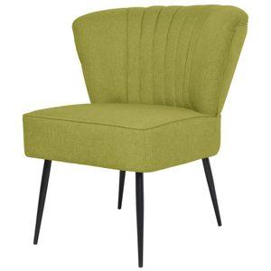 【Neu】Cocktailsessel Cocktailstuhl Grün Stoff Gesamtgröße:64 x 73 x 81 cm BEST SELLER-Möbel-Stühle-Sessel im Landhaus-Stil