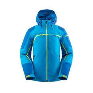 Spyder Herren Ski-Winter-Jacke Gore Tex Titan GTX Jacket schwarz blau, Größe:XXL