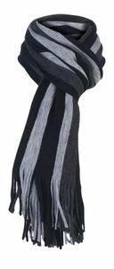 Giovanni Cassini - Herren Italienisch Inspirierte Streifen Winter Warm Schal