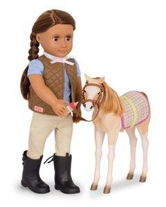 Our Generation - Mustang Fohlen für Puppe 46 cm