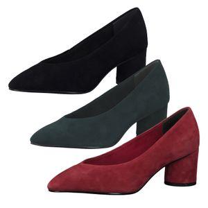 Tamaris 1-22429-23 Damen Schuhe Pumps spitze Form Leder, Größe:37 EU, Farbe:Schwarz