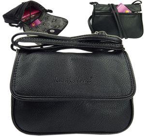 Abendtasche Fashion kleine Damentasche Handtasche Umhängetasche Tasche  Schwarz
