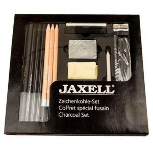 Jaxell - Zeichenkohle Set - 24 teilig - 48233