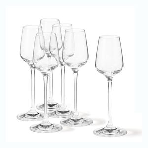 Leonardo Tivoli Digestiv Glas 6er Set, Digestivglas, Grappaglas, Likör, Schnapsglas, Glas, 20 ml, 17091