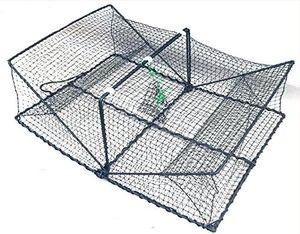Krebskorb Krebsreuse Crabbasket flatfishbasket Plattfischkorb ca 60 x 45x 22 cm