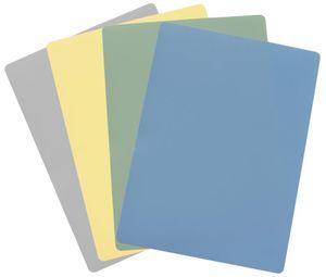 Steuber 4er Set Flexible Schneidematten 38 x 28 cm,  4 Farben für verschied. Anwendungsbereiche, lebensmittelecht, Klingen-schonend