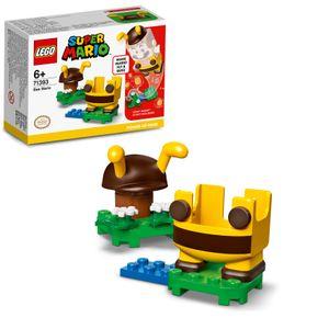 LEGO 71393 Super Mario Bienen-Mario Anzug, Upgrade, Spielzeugkostüm, Geschenkidee Sammlerspielzeug