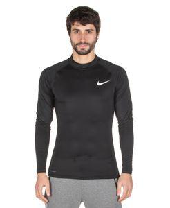 NIKE Herren Pro Dry Fit COMPRESSION Langarm Funktionsshirt schwarz, Bekleidungsgröße:L