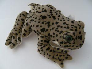 Stofftier Leopardenfrosch 20 cm, Kuscheltier Plüschtier Frosch Frösche