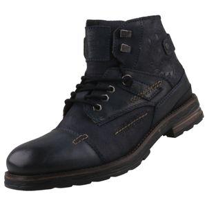 bugatti Herren Stiefel Blau, Schuhgröße:EUR 46