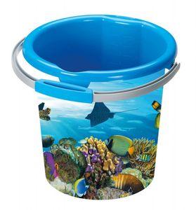 Sunware eimer Decor Ocean 12 Liter blau