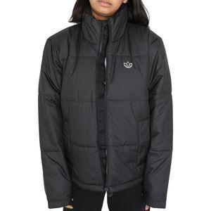adidas Originals Short Puffer Jacke Damen Schwarz (GK8554) Größe: 40 (M)
