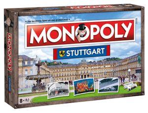 Monopoly Stuttgart Stadt City Edition Ausgabe Spiel Gesellschaftsspiel Brettspiel