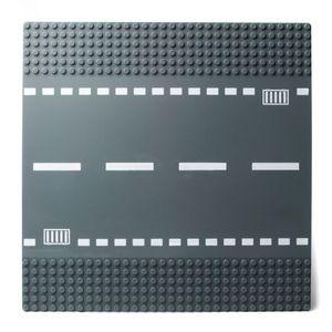 Straßen Sets Kreuzung und Gerade Lego-Kompatibel