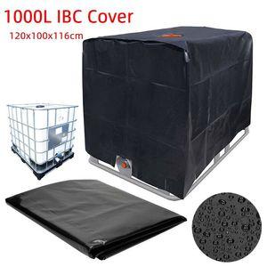 Meco Wasserdichter Sonnenschutz Container Wassertank Abdeckung, Wasserspeicherbehälter IBC Tank Sonnenschutzhaube Plane Für Regenwassertank 1000L IBC Behälter